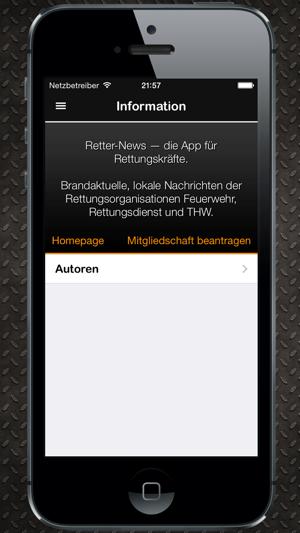 Retter–News Screenshot