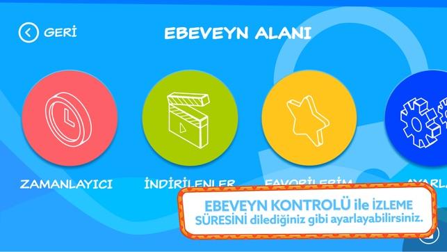 TRT Çocuk Mobil Screenshot