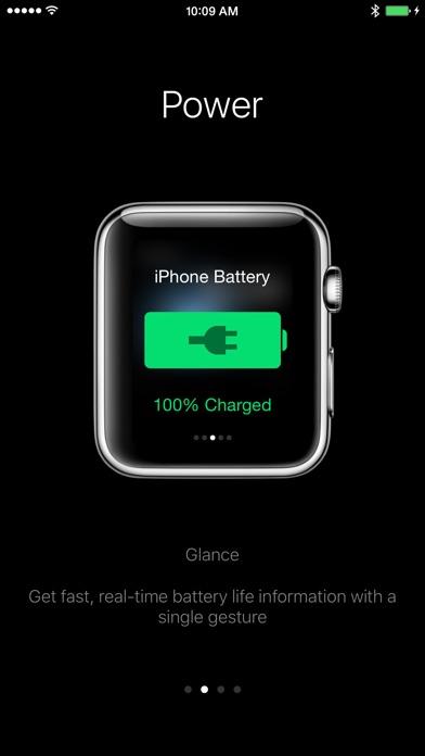 Power - Glance at battery life Screenshot