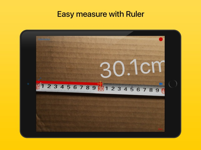 Ruler - righello Screenshot