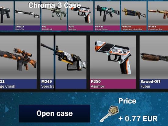weapon case opening simulator