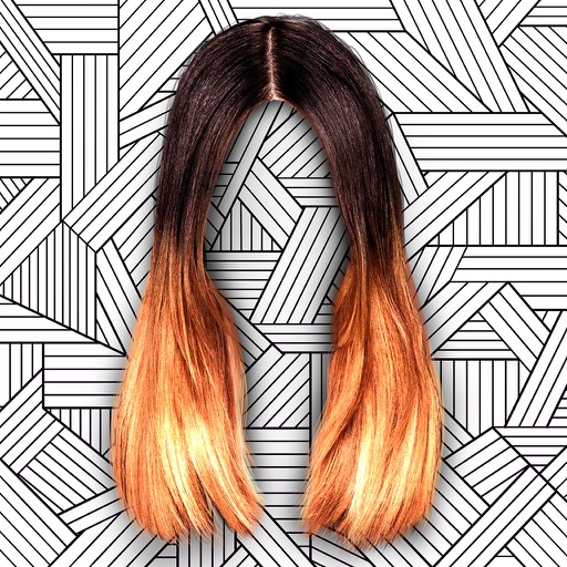 ombre hair color changer