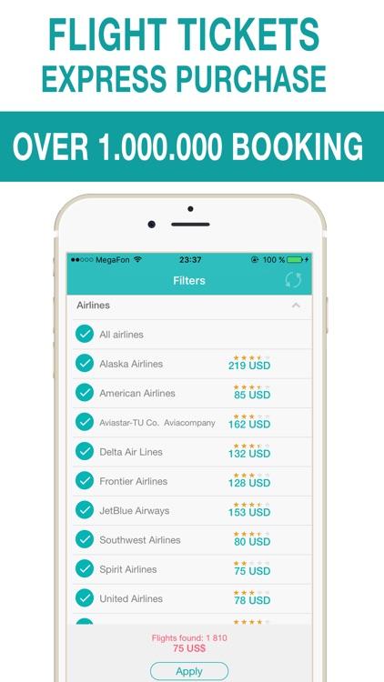 All airlines - cheap airline tickets & airfare deals by Olga Serebriakova