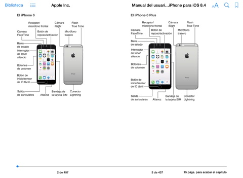 Manual del usuario del iPhone para iOS 8.1 by Apple Inc
