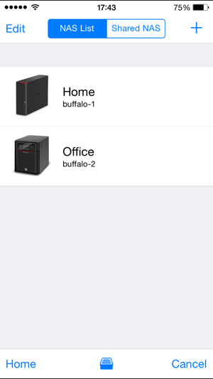 WebAccess i Screenshot