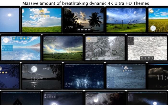 Motion Weather 4K - Ultra HD Screenshot 04 13bs0bn