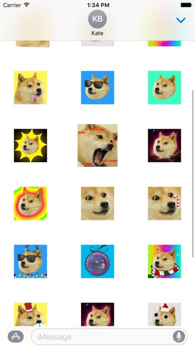Doge Stickers Screenshot