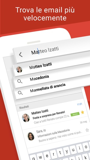 Gmail - l'email di Google Screenshot