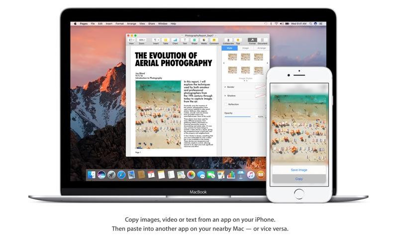 macOS Sierra Screenshot