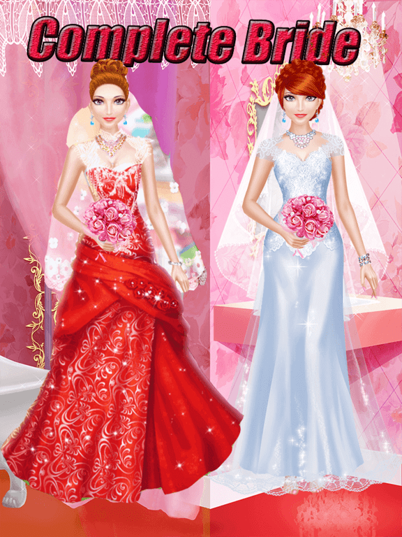 Wedding Salon Game : wedding, salon, Wedding, Salon, Makeover,, Dress, Makeup, Price, Drops