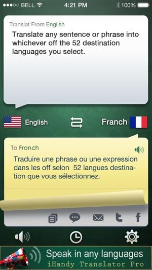 iHandy Translator Screenshot