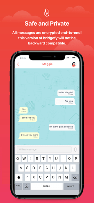 Bridgefy - Offline Messages Screenshot