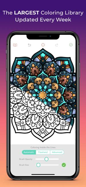 Pigment - Adult Coloring Book Screenshot