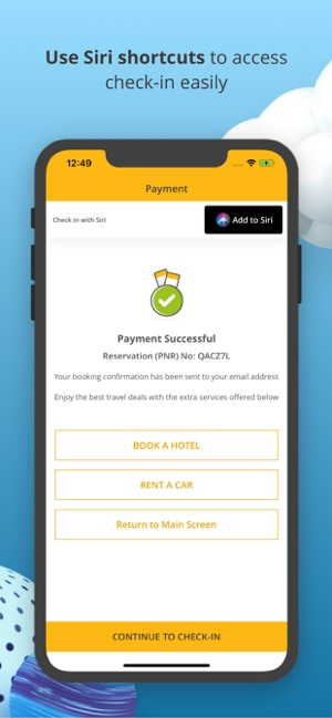 Book Flight Tickets by Pegasus Screenshot