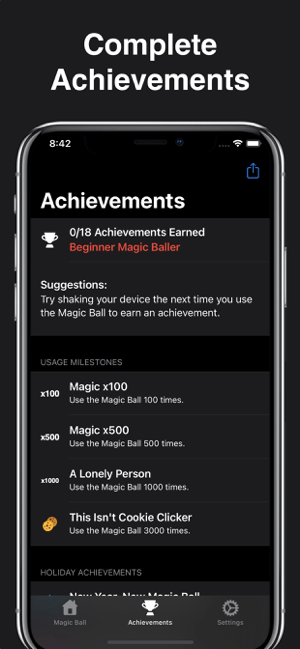 ‎Modern Magic Ball Screenshot