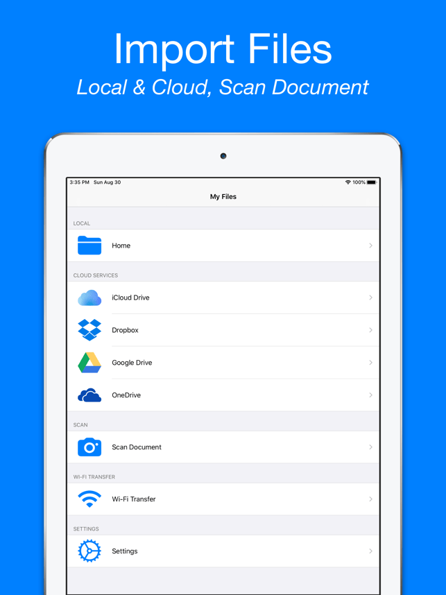 ‎MyFiles: File Manager Explorer Screenshot