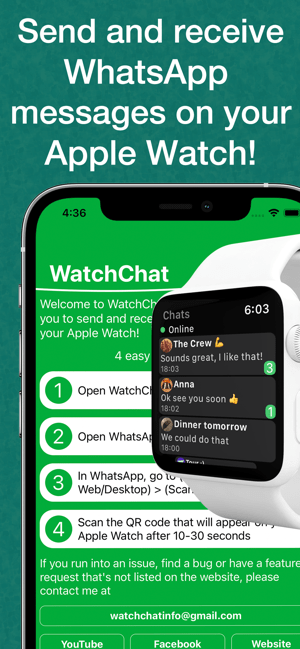 ‎WatchChat 2: for WhatsApp Screenshot