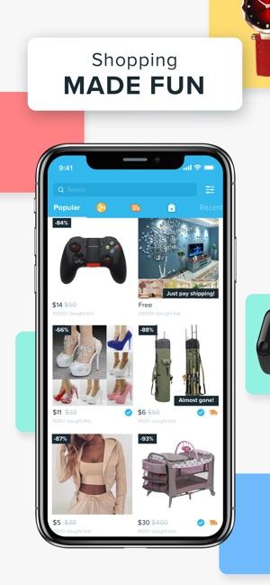 Wish Acheter En S'amusant : acheter, s'amusant, Acheter, S'amusant, L'App, Store
