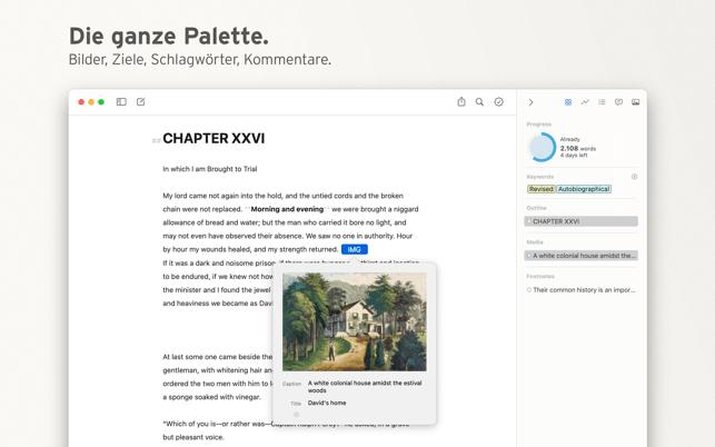 Ulysses | Schreibprogramm Screenshot