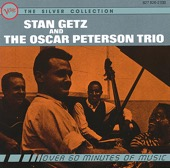 Stan Getz & Oscar Peterson Trio - Stan Getz and the Oscar Peterson Trio  artwork