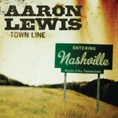Aaron Lewis - Town Line  artwork