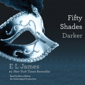 E L James - Fifty Shades Darker: Book Two of the Fifty Shades Trilogy (Unabridged)  artwork
