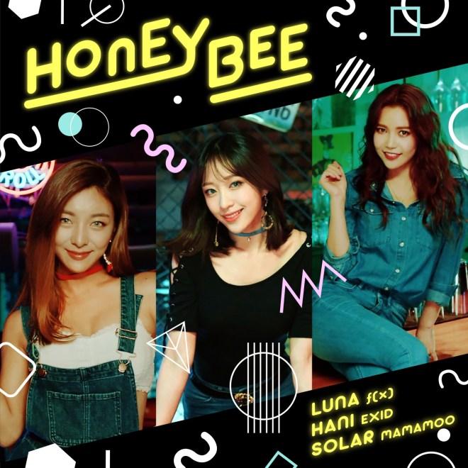 루나, 하니 & 솔라 - Honey Bee - Single