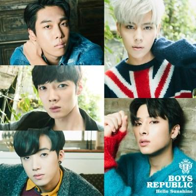 Boys Republic - Hello Sunshine - Single