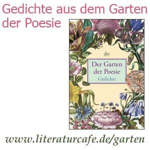 """Gedichte Aus Dem Garten Der Poesie"""" Von Das Literatur Cafe Und Dtv"""