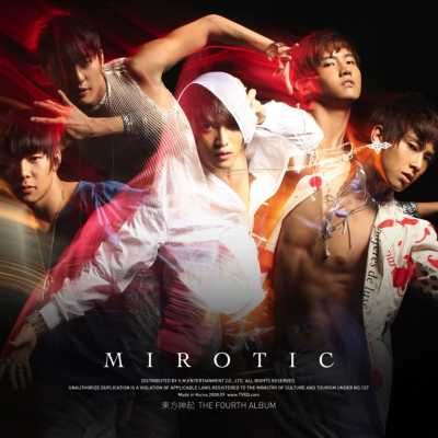 東方神起 - MIROTIC - The 4th Album