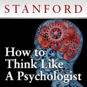 Stanford Continuing Studies Program - How to Think Like a Psychologist  artwork
