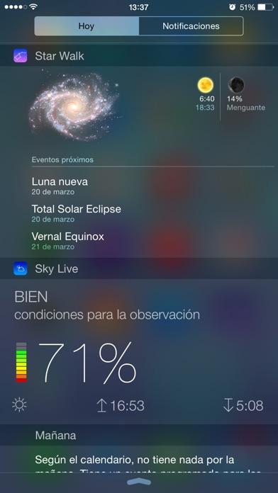 Sky Live - la observación de estrellas Screenshot