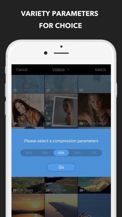 Video Compress Pro - Reduce movie size Screenshot