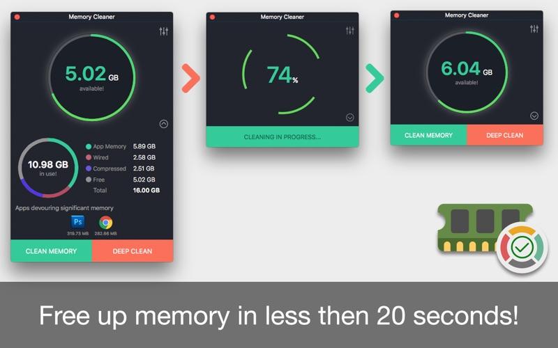 Memory Cleaner for Mac 1.3 破解版 - 内存清理工具