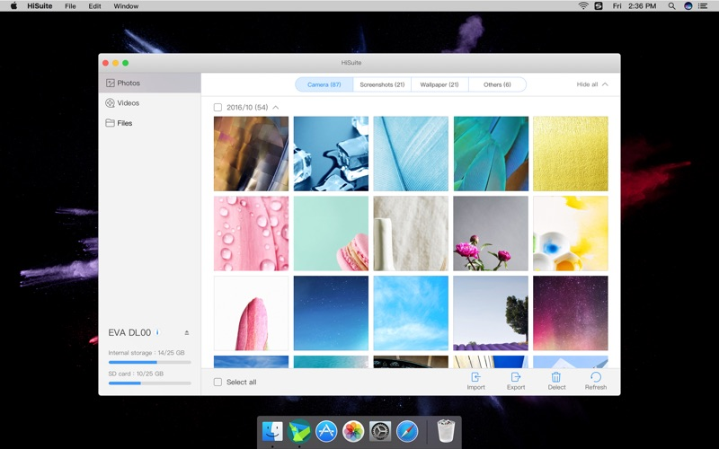HiSuite Screenshot