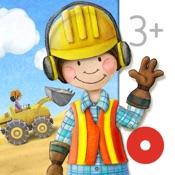 Meine Bauarbeiter: Bagger, Kran & Laster Wimmelapp