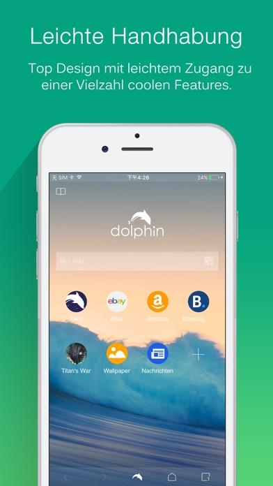 Dolphin Internet Browser Screenshot