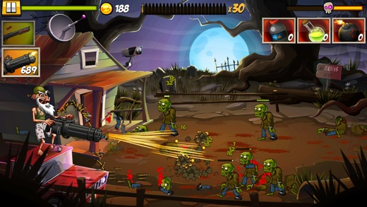 Zombie Smash! Time Travel Screenshot