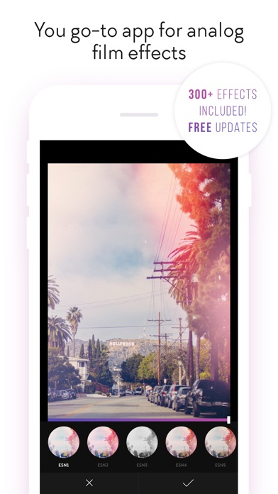 Filterloop Pro - Analog Film Filters And Effects Screenshot