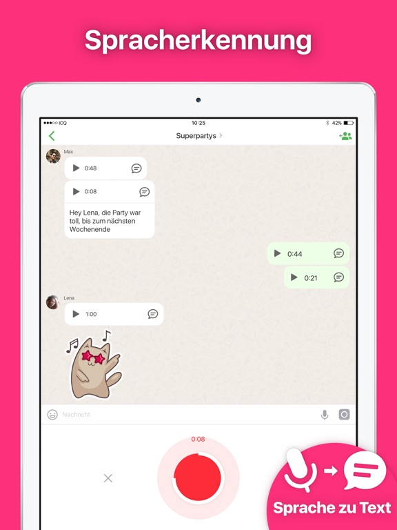 ICQ – Anrufe und Chat Screenshot