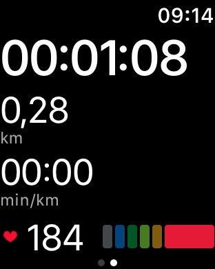 Runtastic Laufen und Joggen Screenshot