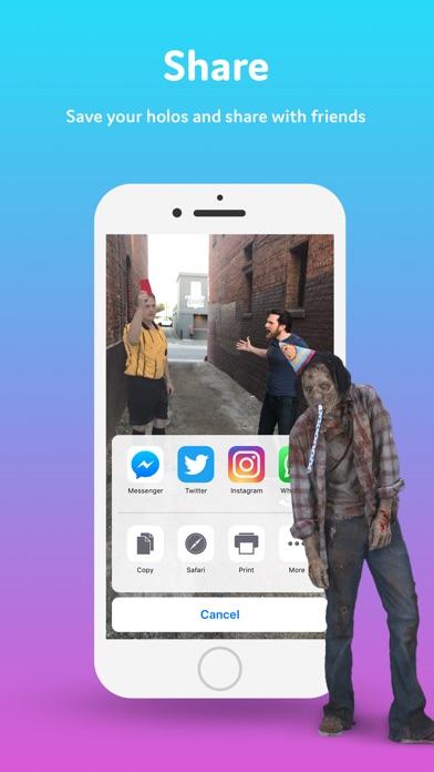 Holo Screenshot