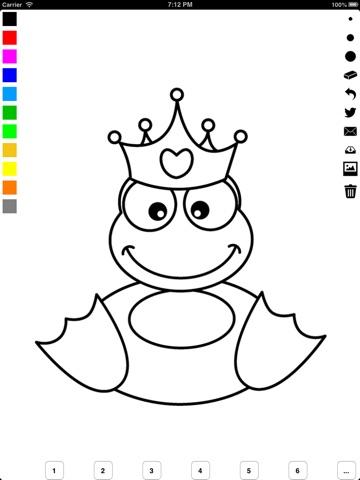 Prinzessinnen Malbuch für Mädchen: Prinzessin, Schloss