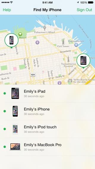 尋找我的 iPhone:在 App Store 上的 App
