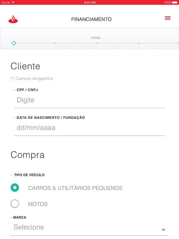 Financiamento Lojista Por Banco Santander (Brasil) SA