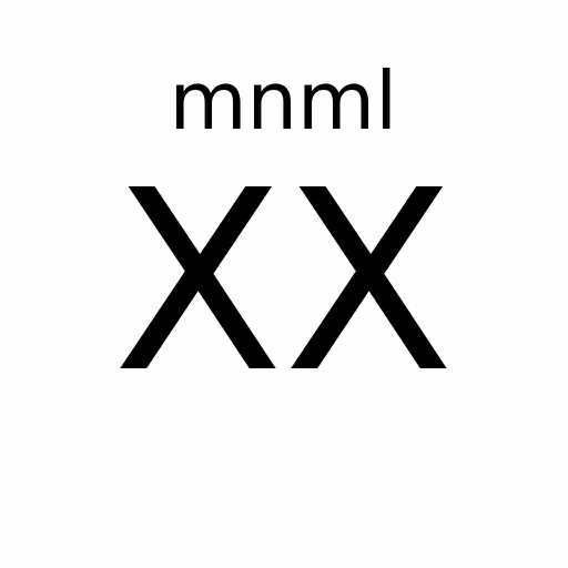 mnml 20 of 25 por Myles Reisig