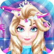 princess barbie hair salon