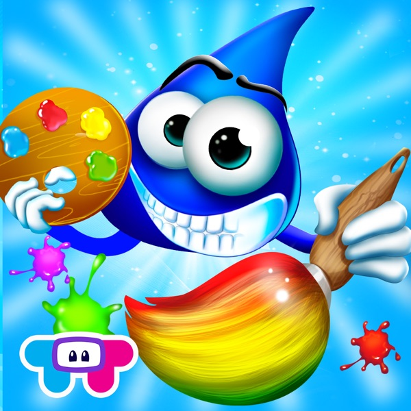 Color Drops - Children's Animated Draw & Paint Game HD!