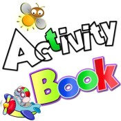 My Children Activity Book, full of colours and class room pre school and school activities