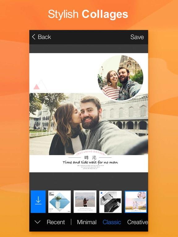 FotoRus -Camera & Photo Editor & Pic Collage Maker Screenshot